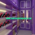 Lemari Baju Dan Rak Sepatu Minimalis Hpl