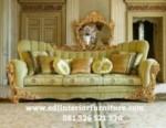 Sofa Mewah Ukiran Terbaru