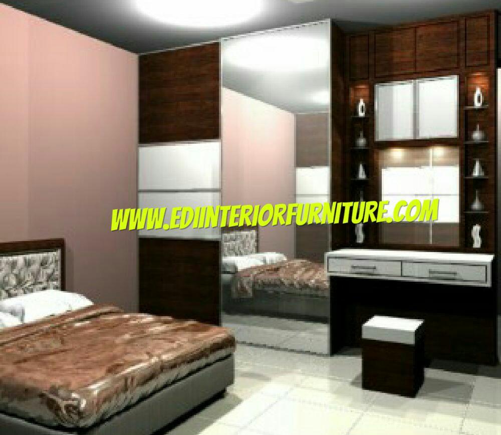 Set Kamar Minimalis Hpl Edi Interior Furniture