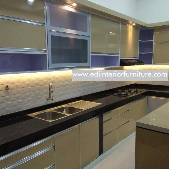 Kitchen Set Minimalis Hpl Terbaru Edi Interior Furniture Edi Interior Furniture