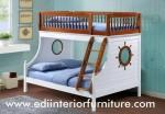 Tempat Tidur Anak Tingkat Tema Kapal